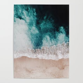 Ocean (Drone Photography) Poster