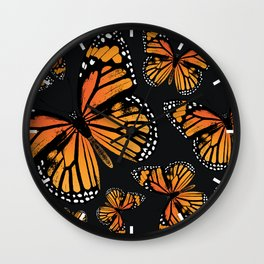 Monarch Butterflies | Monarch Butterfly | Vintage Butterflies | Butterfly Patterns | Wall Clock
