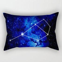 Pleiades Constellation Star Map Rectangular Pillow