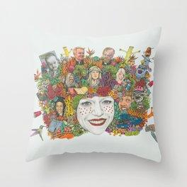 SWEET DEE Throw Pillow