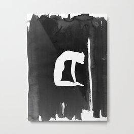 Camel Pose - Yoga Metal Print