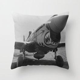 P-40 Warhawk Throw Pillow