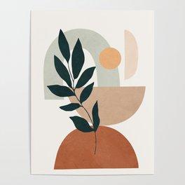 Soft Shapes IV Poster