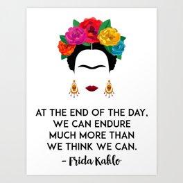 Frida's Strength Kunstdrucke