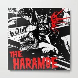 The Harambe Metal Print