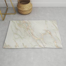 Marble Love Bronze Metallic Rug