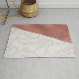 Lexington copper marble Rug