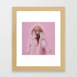 Winter bubble Gerahmter Kunstdruck