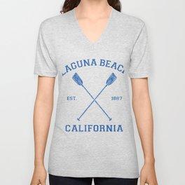 Laguna Beach California Vacation Unisex V-Neck