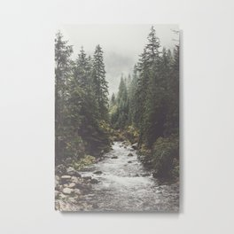 Mountain creek - Landscape and Nature Photography Metal Print