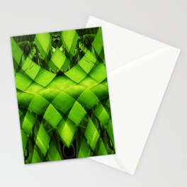 woven plant Stationery Cards
