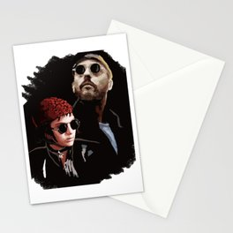 Leon and Mathilda Stationery Cards