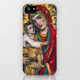 Mother of Perpetual Help iPhone Case
