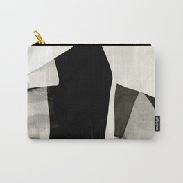 garden in winter abstract art Carry-All Pouch