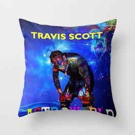 scott album travis 2020 dede5 Throw Pillow
