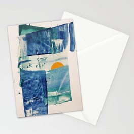 The Mid-April Sunrise Stationery Cards
