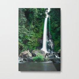 Large Waterfall Bali Metal Print
