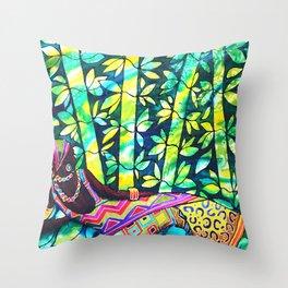 Sleep to Dream - Belize Throw Pillow
