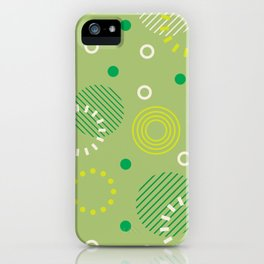 Obscure pattern iPhone Case