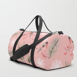 Xmas Pattern Pink #socieyt6 #buyart Duffle Bag