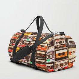 Something Nostalgic V - Music - Global Language #decor #society6 #buyart Duffle Bag