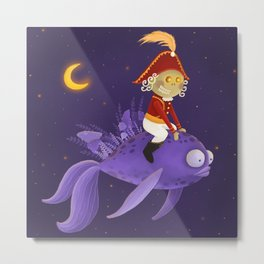 Nutcracker Metal Print