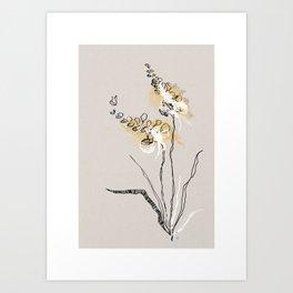 Summer Plant 2 Art Print