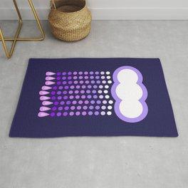 Lavender Rain (Motif) Rug