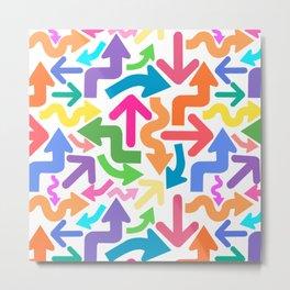 Arrow color Metal Print