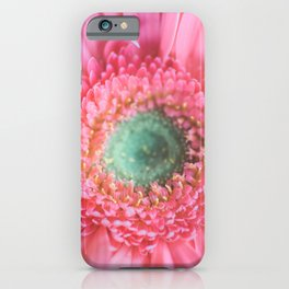 Centered and Pink iPhone Case