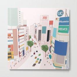 Shibuya 109 Metal Print
