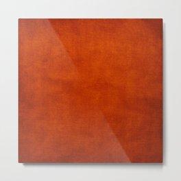 Burnt Orange  Metal Print