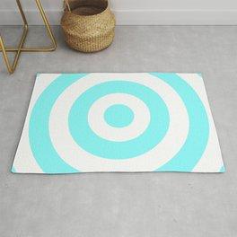 Target (Aqua & White Pattern) Rug