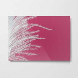 Edge Of A Feather Metal Print