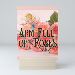 Arm Full of Roses Mini Art Print