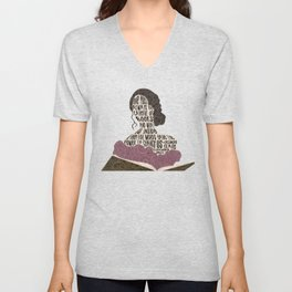 Tessa Gray - Clockwork Angel (old design) Unisex V-Neck