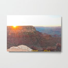 South Rim Sunset Metal Print