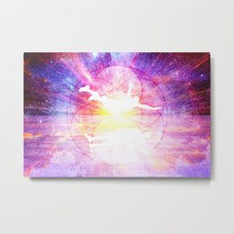 Astral Metal Print