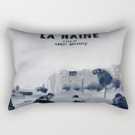 La Haine Rectangular Pillow