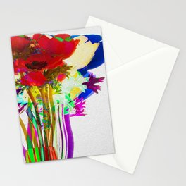 Belle Anemoni or Beautiful Anemones Stationery Cards