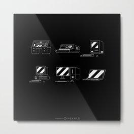 Computer Timeline Development Of The PC Metal Print