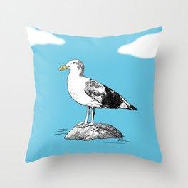 Standard Seagull Throw Pillow