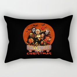 Horror movie halloween is my christmas Rectangular Pillow