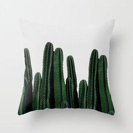 Cactus I Throw Pillow