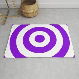 Target (Violet & White Pattern) Rug