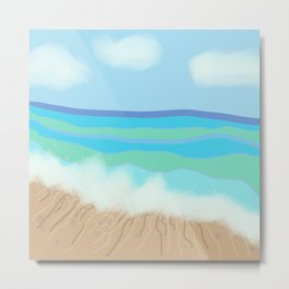 A Swell Day Metal Print