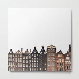 Simply Amsterdam Metal Print