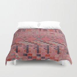 V21 New Traditional Moroccan Design Carpet Mock up. Duvet Cover
