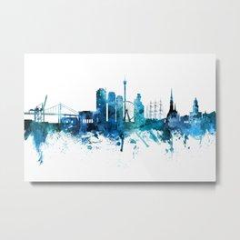 Gothenburg Sweden Skyline Metal Print