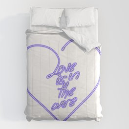Love is in the wire 1 Comforters